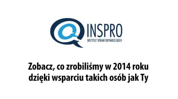 Sukcesy INSPRO w 2014