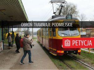 Obroń tramwaje podmiejskie